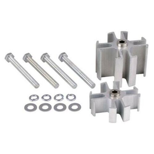 """910-15720-200 Aluminum Fan Spacers With Bolts 2.00/"""""""