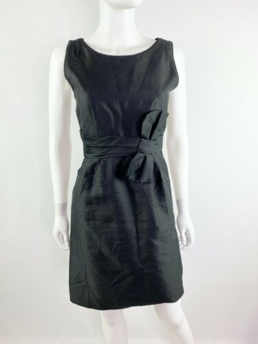 Kate Spade Sz 0 Black Mademoiselle Sheath Dress Si