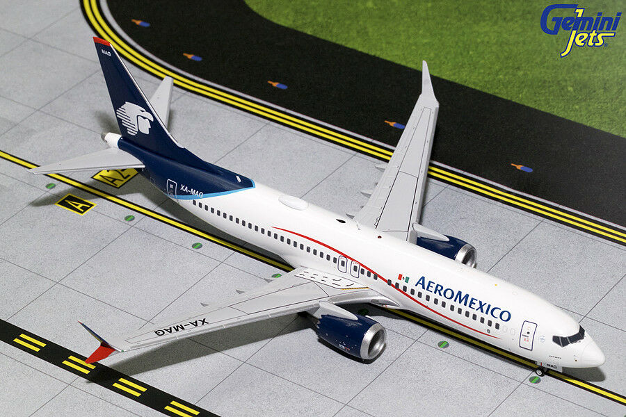 GEMINI JETS AEROMEXICO BOEING 737 MAX 8 1 200 modeLL G2AMX708 IN STOCK