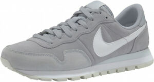 official photos ca3d3 366eb Image is loading Nike-Air-Pegasus-83-Leather-Running-Shoes-Wolf-