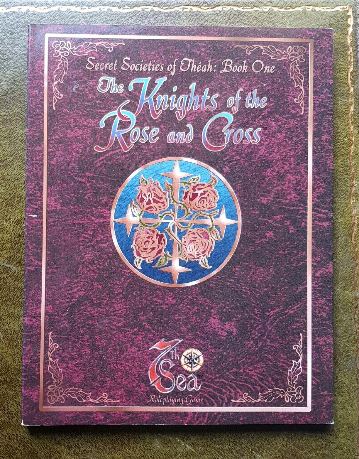 I Cavalieri della Croce rosado e società segrete di theah LIBRO UNO 7TH SEA RPG