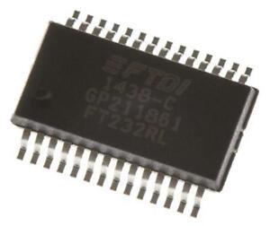 2-x-FTDI-Chip-FT232RL-USB-Controller-TTL-RS232-3MBd-USB-2-0-1-8-5-25-V-SSOP-28