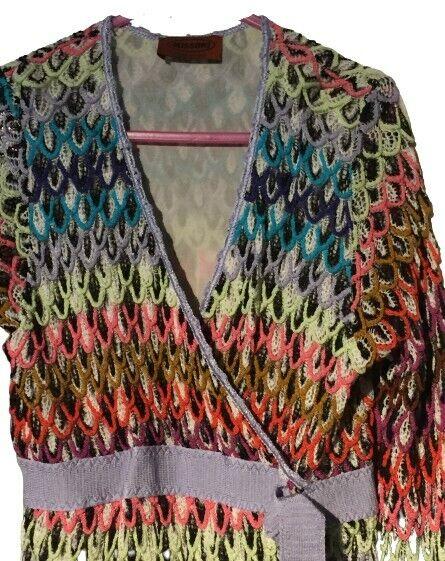 Missoni * Strick Kleid* VESTIDO dress * Girl * Gr 128/8 J