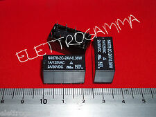 rele relais relay 24 volt DC 24 v 1 A doppio scambio