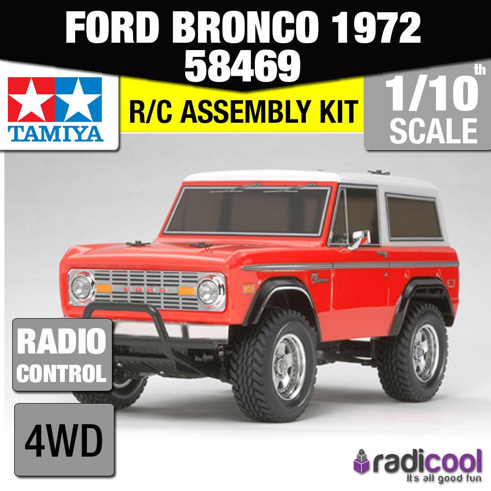 mejor precio 58469 58469 58469 TAMIYA FORD BRONCO 1972 CC-01 th RC Camión Kit Radio Control  nuevo  envío gratuito a nivel mundial
