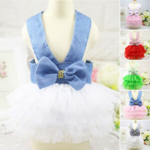 Dog-Cat-Bow-Tutu-Dress-Lace-Skirt-Pet-Puppy-Princess-Costume-Apparel-Clothes