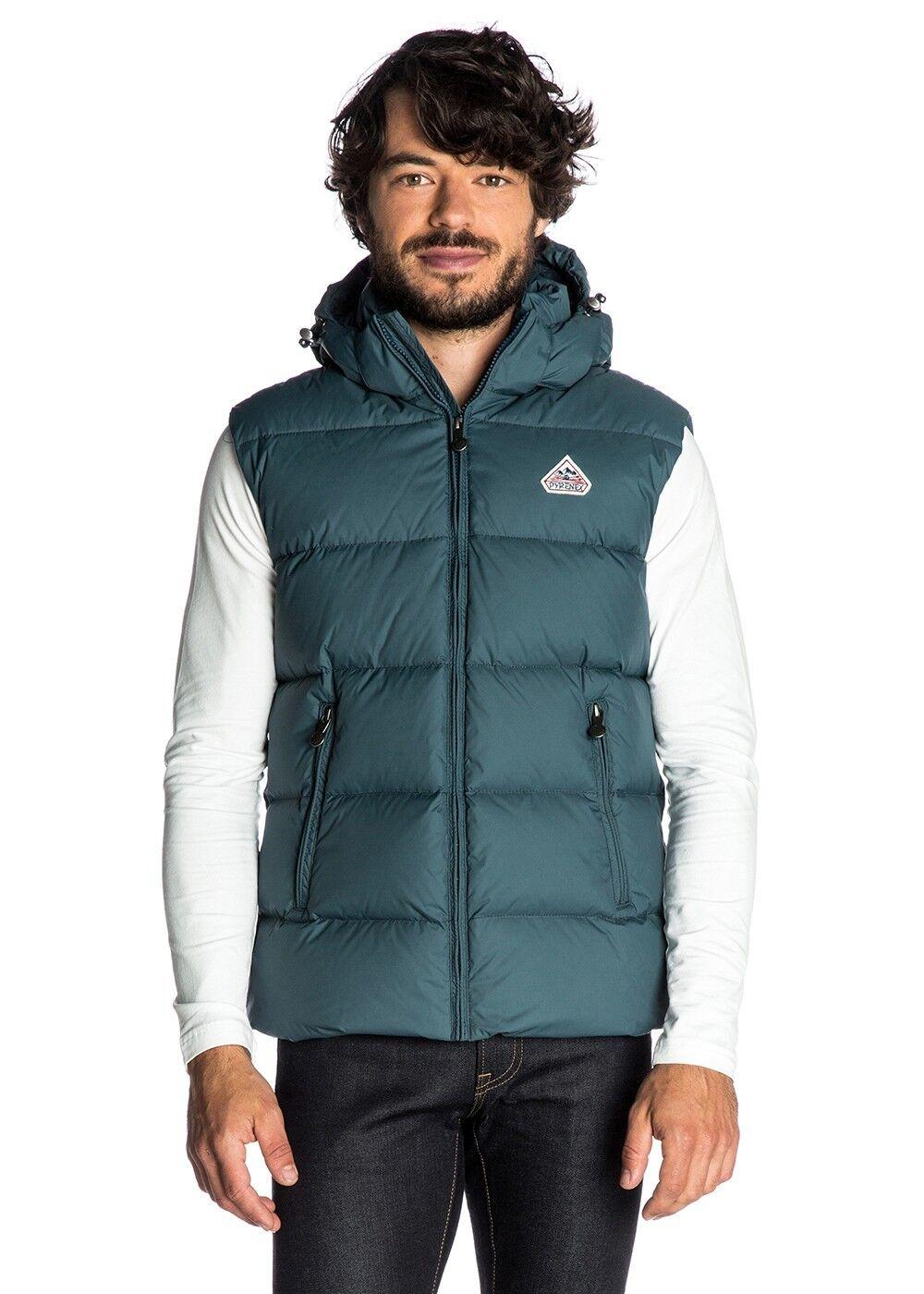 Pyrenex Spoutnic Spoutnic Spoutnic Matte Winter Vest Gilet - Teal | Überlegen  21ea33