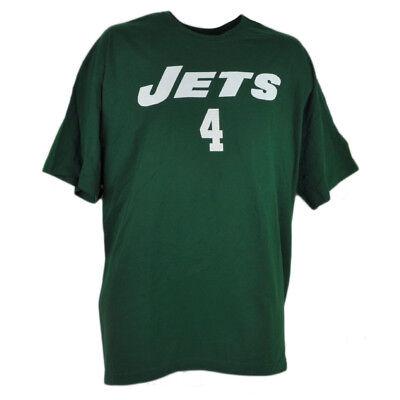 Baseball & Softball Sport Nfl New York Jets Brett Favre T-shirt 4 Reebok Rbk Grün Herren Baumwollhemd Supplement Die Vitalenergie Und NäHren Yin