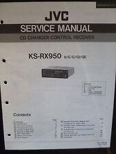 Original Service Manual  JVC KS-RX950
