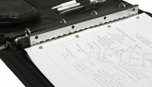 GENIE PP4M 4-fach Taschenlocher Locher abheftbar Vierfachlocher Mehrfachlocher