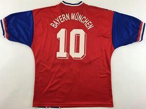 Dettagli su Il Bayern Monaco 10 Matteo ADIDAS Equipment SHIRT MAGLIA 1993-95 VINTAGE 90er XL- mostra il titolo originale