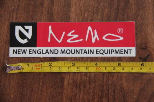 NEMO EQUIPMENT Tent Tents STICKER Decal NEW