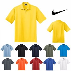 b5b37397 MEN'S NIKE, SHORT SLEEVE, WICKING, DRI FIT, TEXTURED, GOLF POLO ...