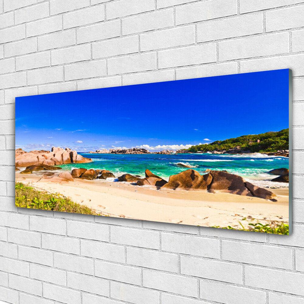 Acrylglasbilder Wandbilder aus Plexiglas® 125x50 Strand, Meer, See Landschaft