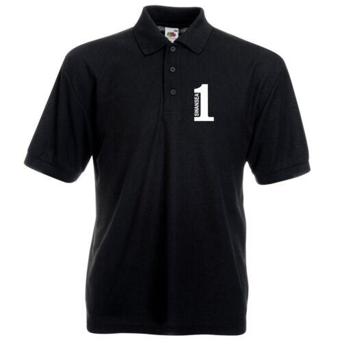 Number 1 Swansea Fan T-Shirt Mens