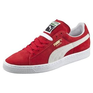f6cb94017a81 Puma Suede Classic High Risk Red   352634-65   Men s 60s Low + Plus ...