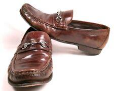 78506c4e177 Cole Haan Horse-Bit Loafers Mens Size 11M Brown Leather Apron-Toe Dress  Shoes