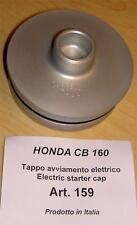 Honda CB160 Cappellini #159 billet crank case plug when starter motor is removed