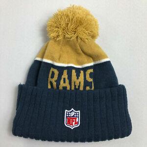 95c0b94c Los Angeles Era La Rams Beanie NFL 2015 Sideline Sport Knit on The Field