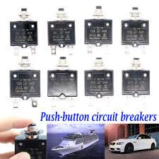 5 30amp Push Button Manual Reset Thermal Circuit Breaker 50v Dc 250v Ac