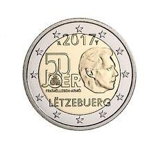 2,- Gedenkmünze 50 Jahre freiwilliger Wehrdienst von Luxemburg
