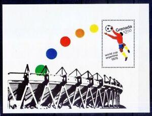 Grenada 1978 MNH MS, World Cup Soccer Argentina, Football, Sports
