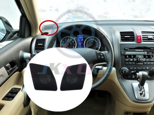 Dashboard Althorn Bezels Tweeter Panel Cover Pair Refit o For Honda CRV 2007-11