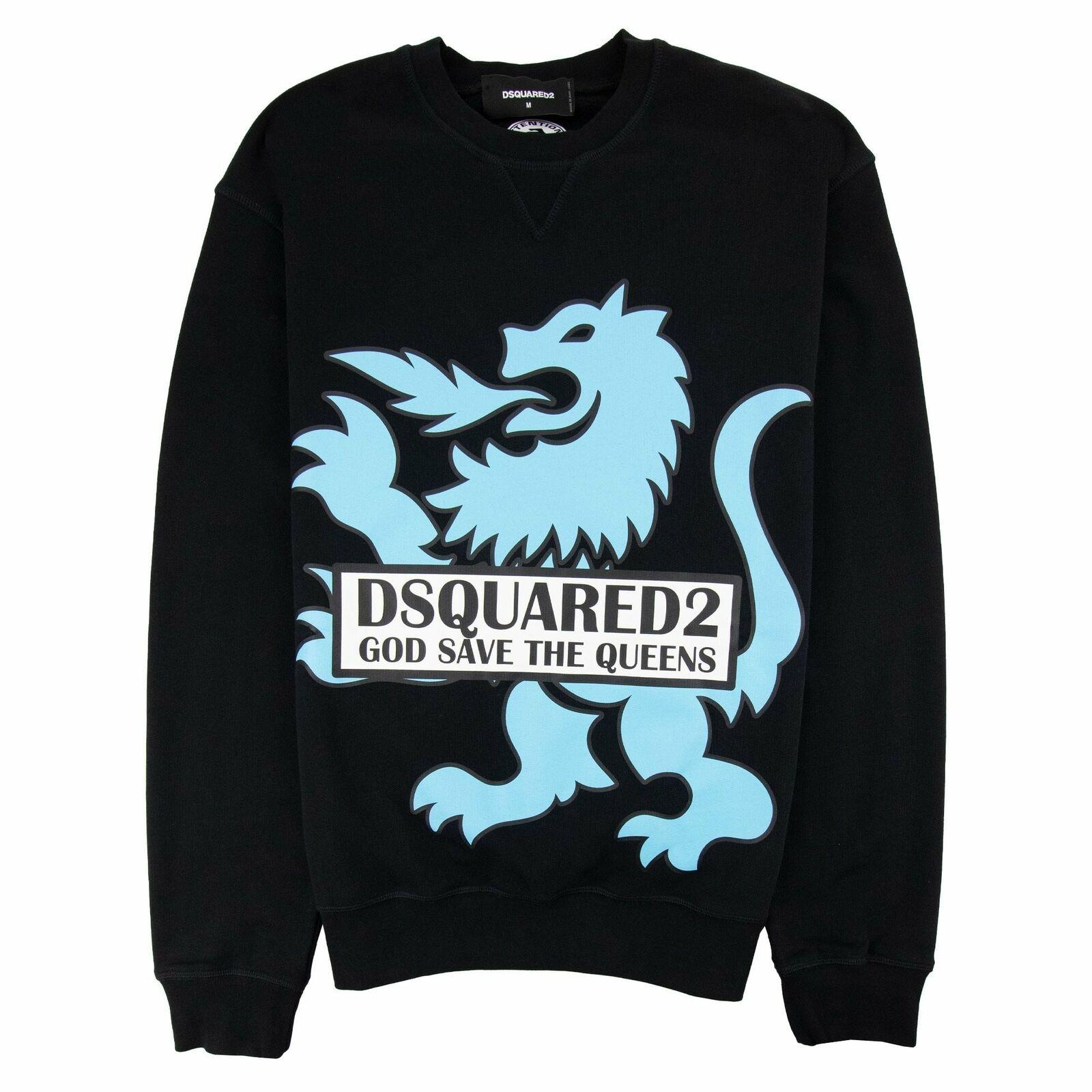 Dsquared2 God Save The Queens Sweatshirt Black