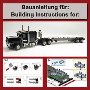 Bauanleitung-Instructions-fuer-Truck-mit-Trailer-Lego-Technic-42078-C-Modell