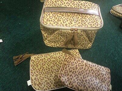November Ipsy Glam Bag Ultimate Animal Print Makeup Bag