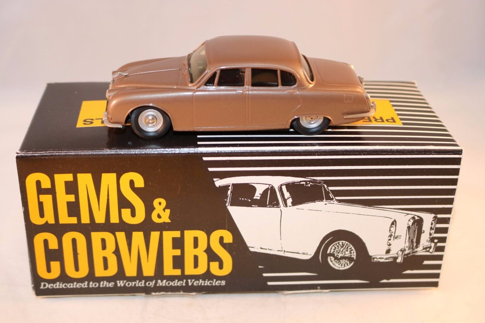 Gembs & Cobwebs G.C. 9 Jaguar S Type 1963 - 1970  Perfect mint in box