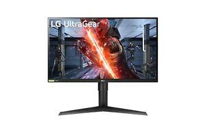 "LG UltraGear 27GL83A 27"" QHD 144Hz 1ms Gaming Monitor 2560x1440"