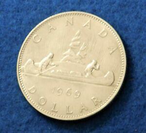 1969-Canada-Dollar-Fantastic-Coin-See-PICS