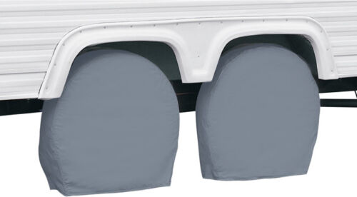 2 Wheel Cover 26.75-inch Classic Accessories 80-083 Gray No 29-inch