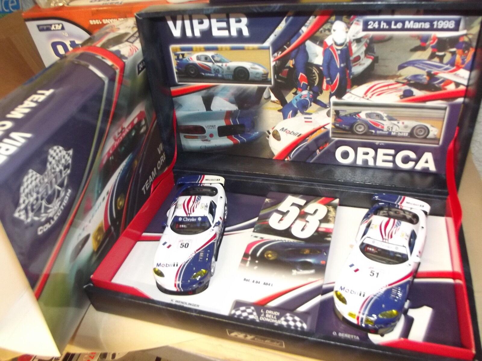VIPER TEAM ORECA- 24H LE MANS 1998-TEAM 7-96040-FLY-CAR-MODEL-SLOT-1 32-E19