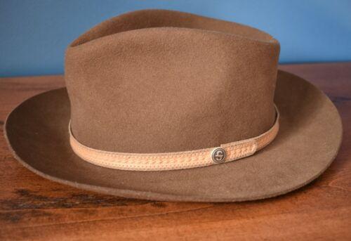 STETSON Colton Wool Fedora Western Hat Adult Unise