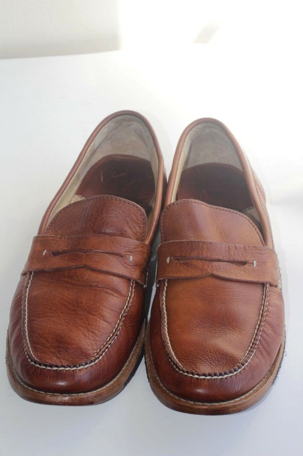 Frye Loafers  Uomo sz 12D Pelle crepe sole Made in Mexico 80558