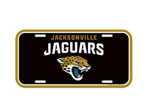 NEW Jacksonville Jaguars License Logo Plate Sign 30 cm NFL Football