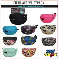 Jansport 100% Authentic Fifth Avenue Fanny Waist Pack Black Blue Pink Tan1