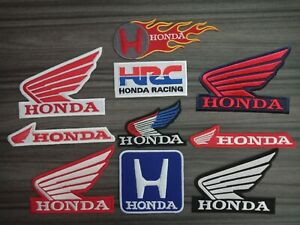 Patches-Honda-Motor-Racing-Car-Motorcycles-Bike-embroidered-patch-Iron-or-Sew-on