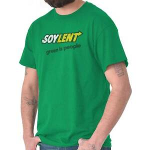 44bdad866 Details about Soylent Green Is People Funny Gift Subway Cool Edgy Sarcastic  T-Shirt Tee