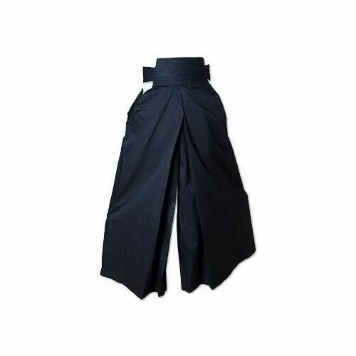 ProForce Gladiator Hakama Kendo//Aikido Pant Martial Arts Sword Training Black