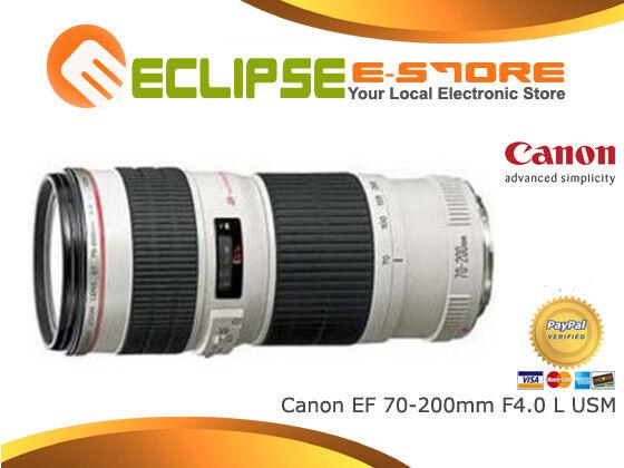 New Canon EF 70-200mm f/4 F4.0 L USM Lens Super Deal