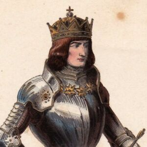 Portrait-Maximilien-d-039-Autriche-Maximilien-Ier-Empereur-des-Romains-Habsbourg