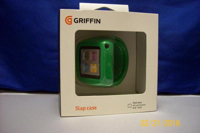 Griffin Slap Flexible Wristband Bracelet Case For Ipod Nano 6th Generation Green For Sale Online Ebay