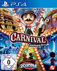 PS4 Spiel NEUWERTIG Carnival Games DEUTSCHE VERSION PS4 ...