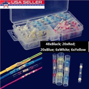 100PCS-Solder-Sleeve-Heat-Shrink-Butt-Waterproof-AWG-10-26-Wire-Splice-Connector