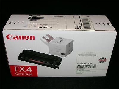 Genuine OEM Toner Cartridge - Black LOT#2 1558A002 Canon FX4