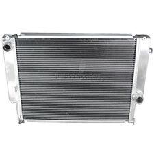 2 Rows Aluminum Radiator FOR 82-94 BMW E30 Manual Transmission