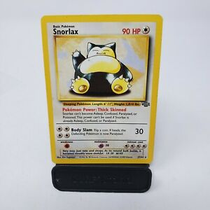 Snorlax-Jungle-Set-27-64-Non-Holo-Rare-WOTC-Wizards-Unlimited-Pokemon-Card